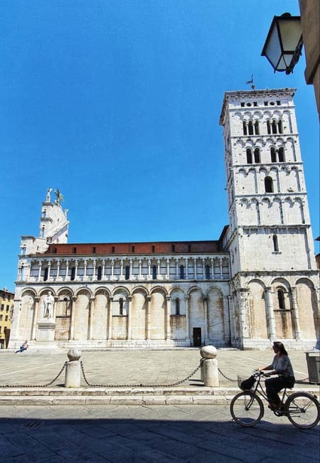 lovely view in lucca