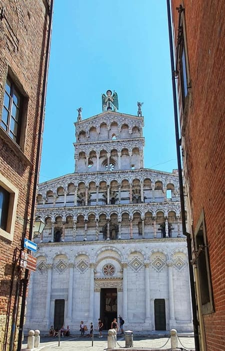 church of saint michael in lucca