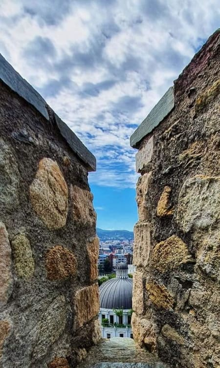 view from fortress