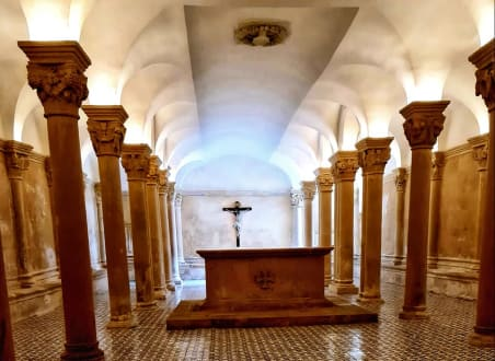 crypt in cathedral