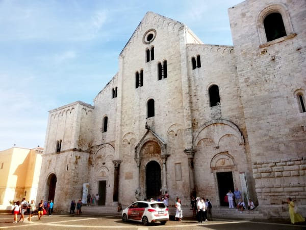 view of Basilica di San Nicolas