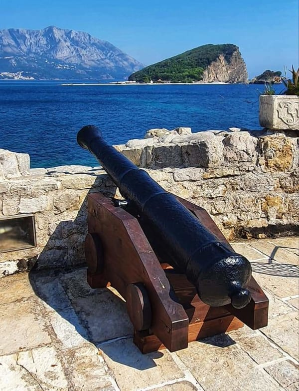 old fortress in montenegro