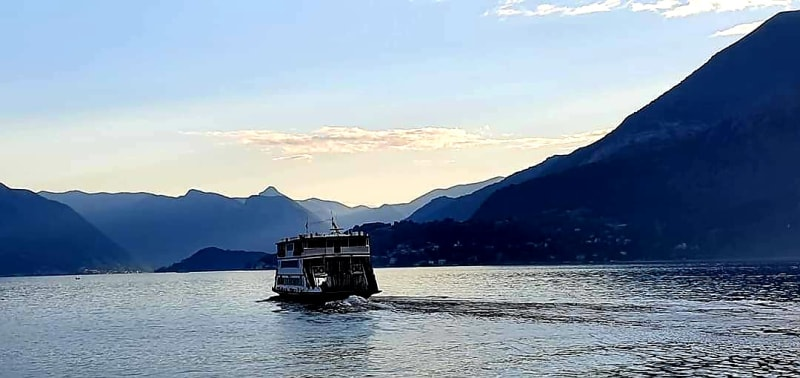 the slow boat to como