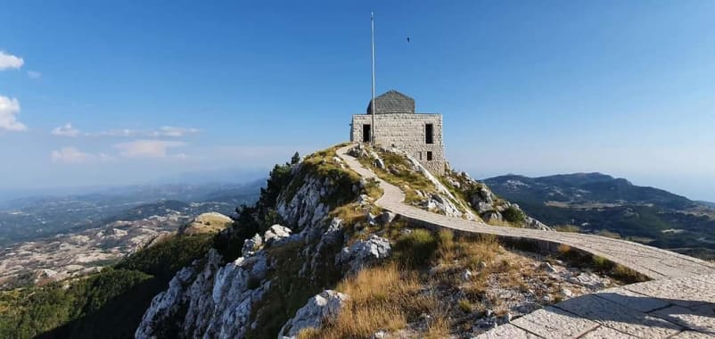 lookout at lovcen - view