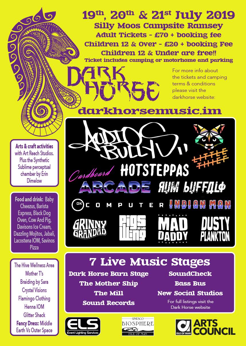 Dark Horse 2019 Lineup