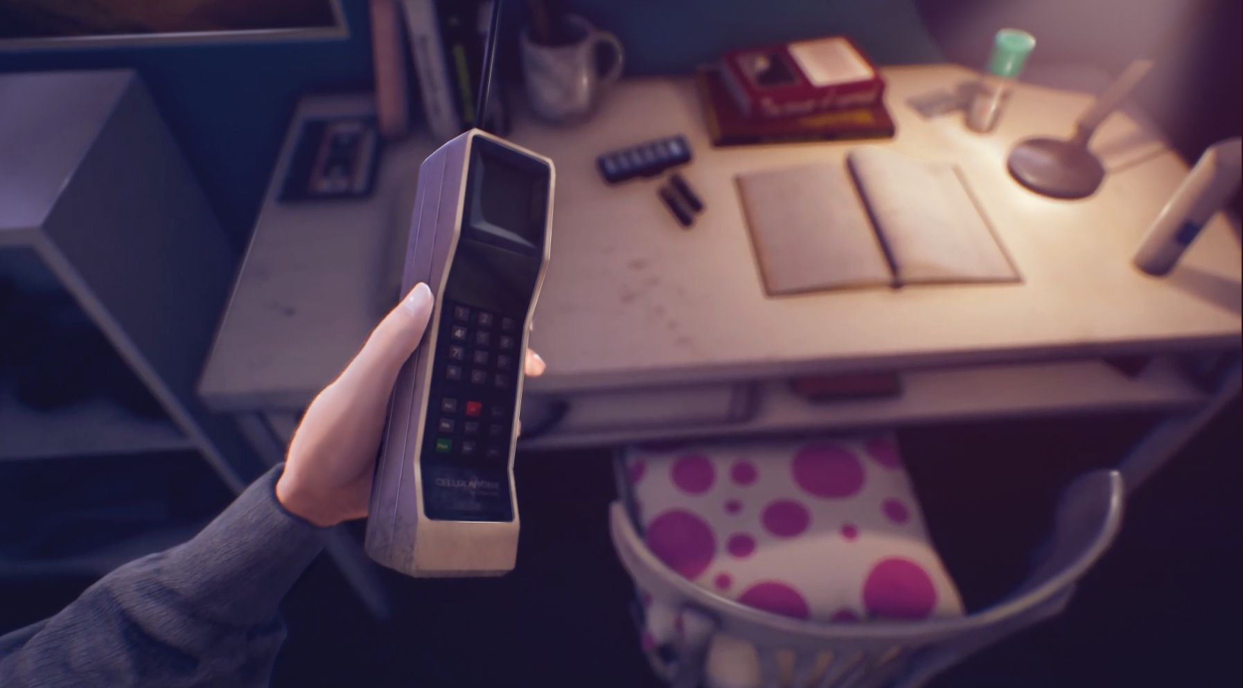 An old phone in the Suicide of Rachel Foster