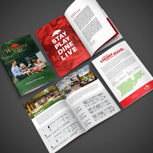 unlimited graphic design brochure