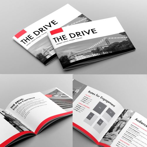 on demand brochure design