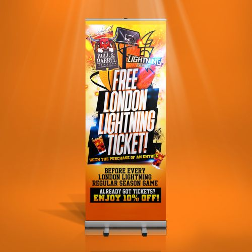 pop-up banner design