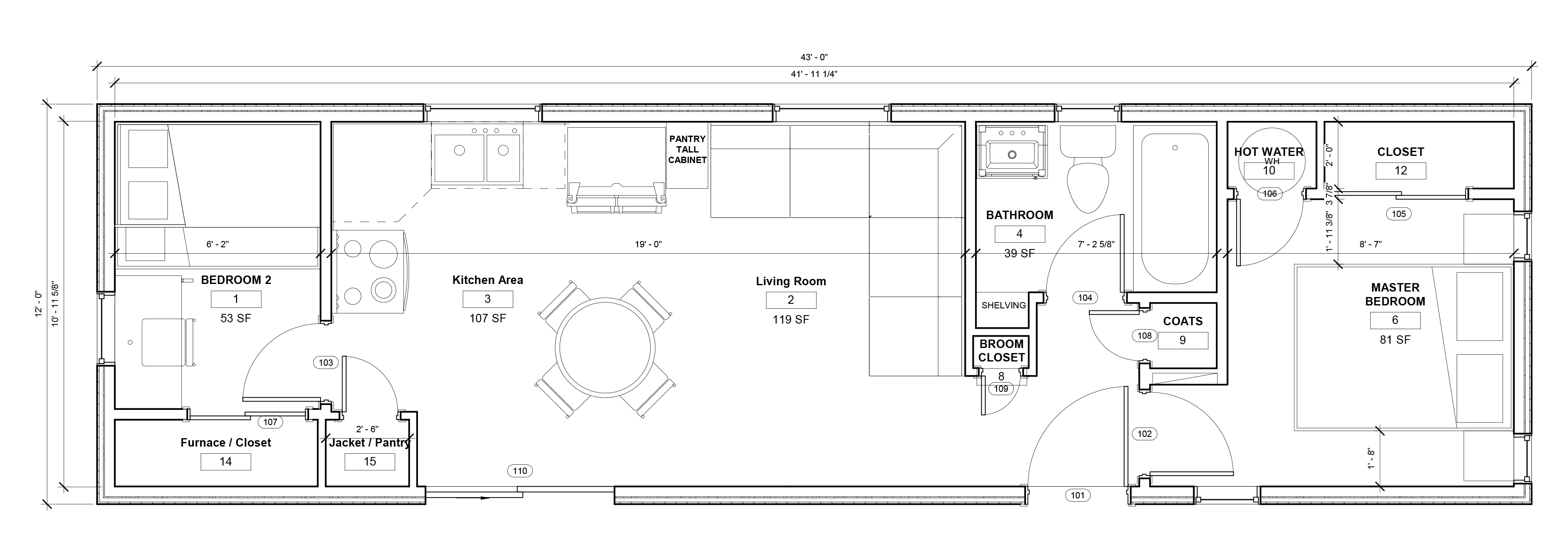 The Proctor Floor Plan
