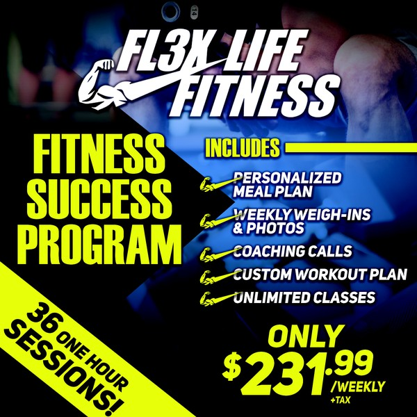 Fall Into Fitness! No enrolement fee! Prices will NEVER be this low again! $799 for 8 one hour personal training sessions & a custom meal program