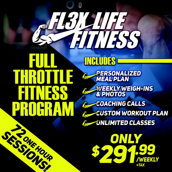 Fall Into Fitness! No enrolement fee! Prices will NEVER be this low again! $829 for 12 half hour personal training sessions & a custom meal program