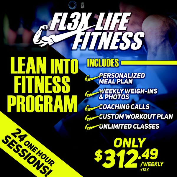 Fall Into Fitness! No enrolement fee! Prices will NEVER be this low again! $699 for 8 half hour personal training sessions & a custom meal program