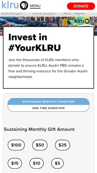 Donate (mobile)