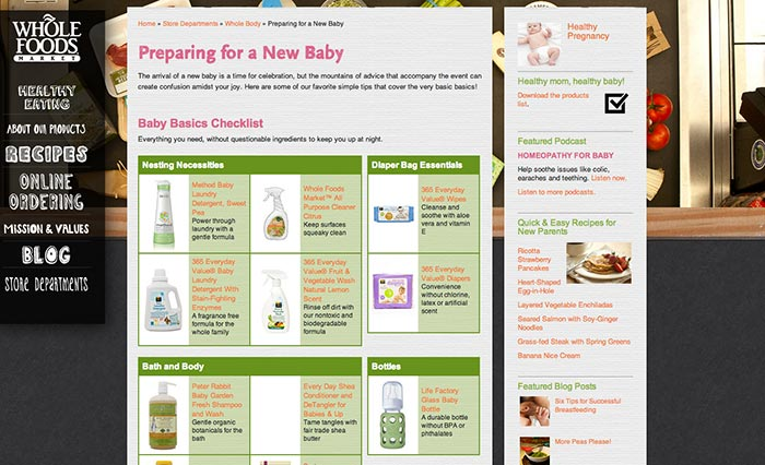 Whole Baby Products