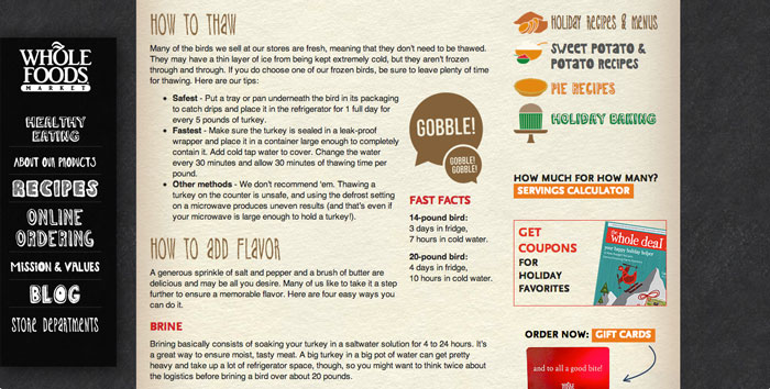 Holiday Turkey Guide