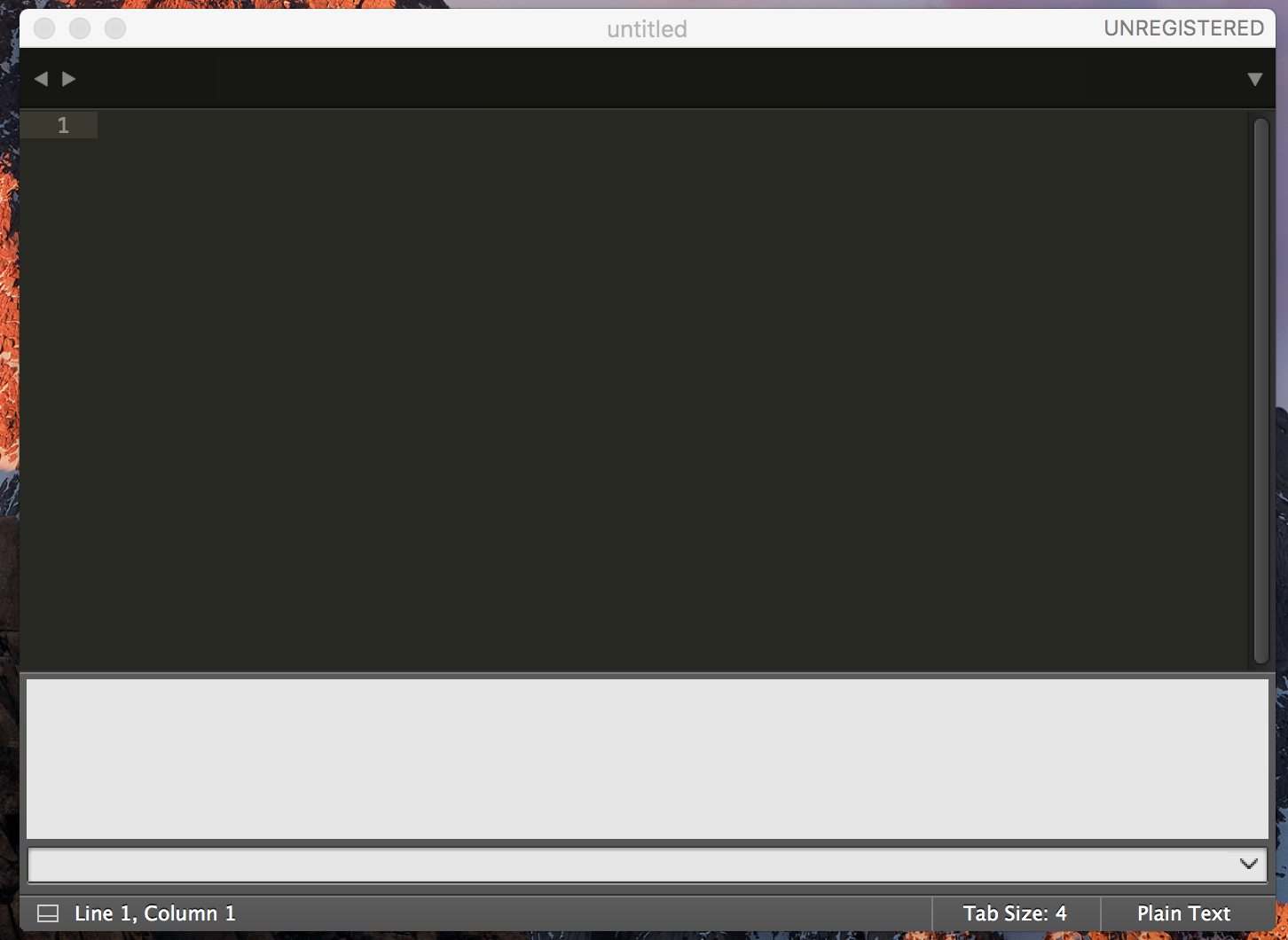 Sublime Text 3 Console