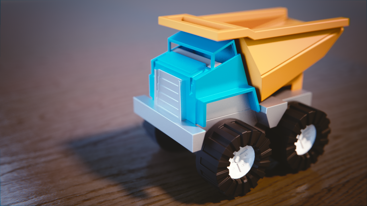 Plastic Material for Toy Truck Image 1