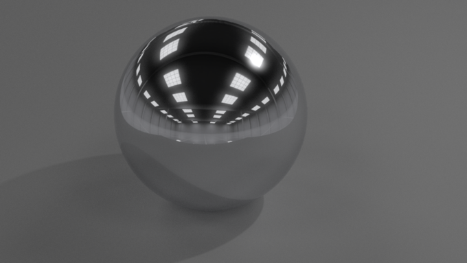 Chrome Shader Cycles Render (Blender) Image 1