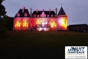 Visite aux chandelles du Château de Trélon-image