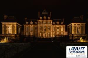 Découverte du parc du Château de Balleroy illuminé-image