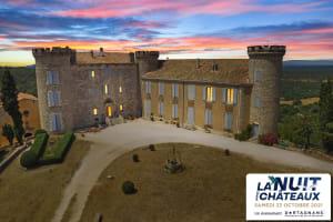 Une nuit au Château de Saint-Martin de Pallières avec Jean de la Fontaine et Alphonse Daudet-image
