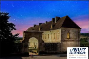 Visite aux chandelles à l'abbaye du Moutiers Saint Jean-image