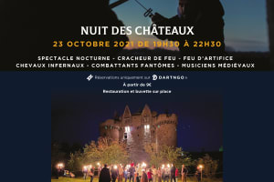 Nuit des châteaux de l'Ebaupinay-image