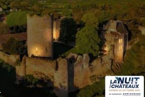 La nuit des Châteaux au château de Montreuil Bonnin : Visitez le monument autrement !-image