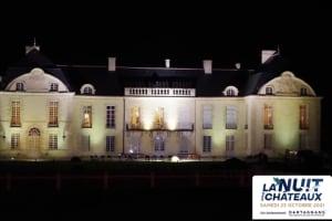 Illumination extérieure du site avec visite guidée de l'intérieur du château -image