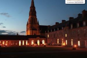 Visite aux chandelles du château du 18e siècle -image