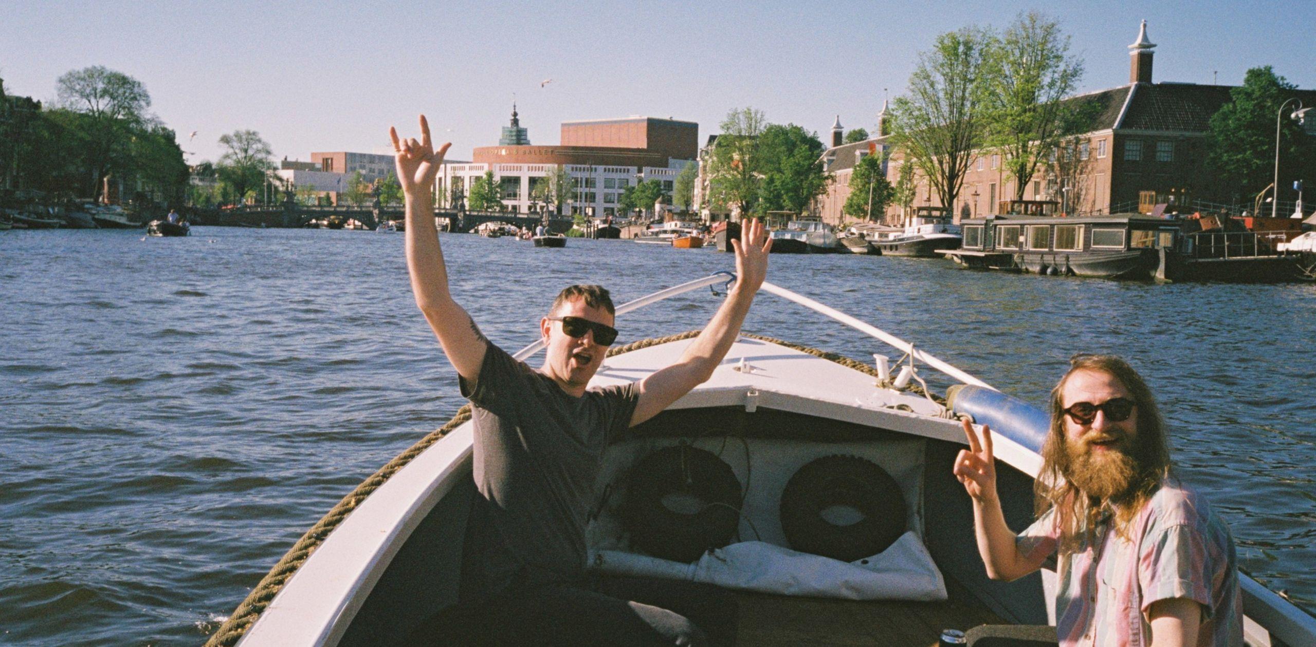 Dane boat Amsterdam