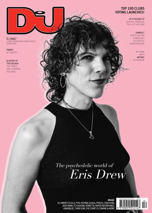 Eris Drew on the cover of DJ Mag's December issue