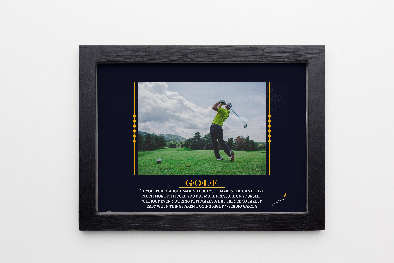 Golf – Sergio Garcia
