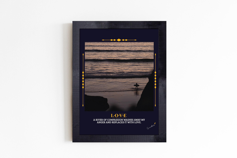 Love Man on Beach