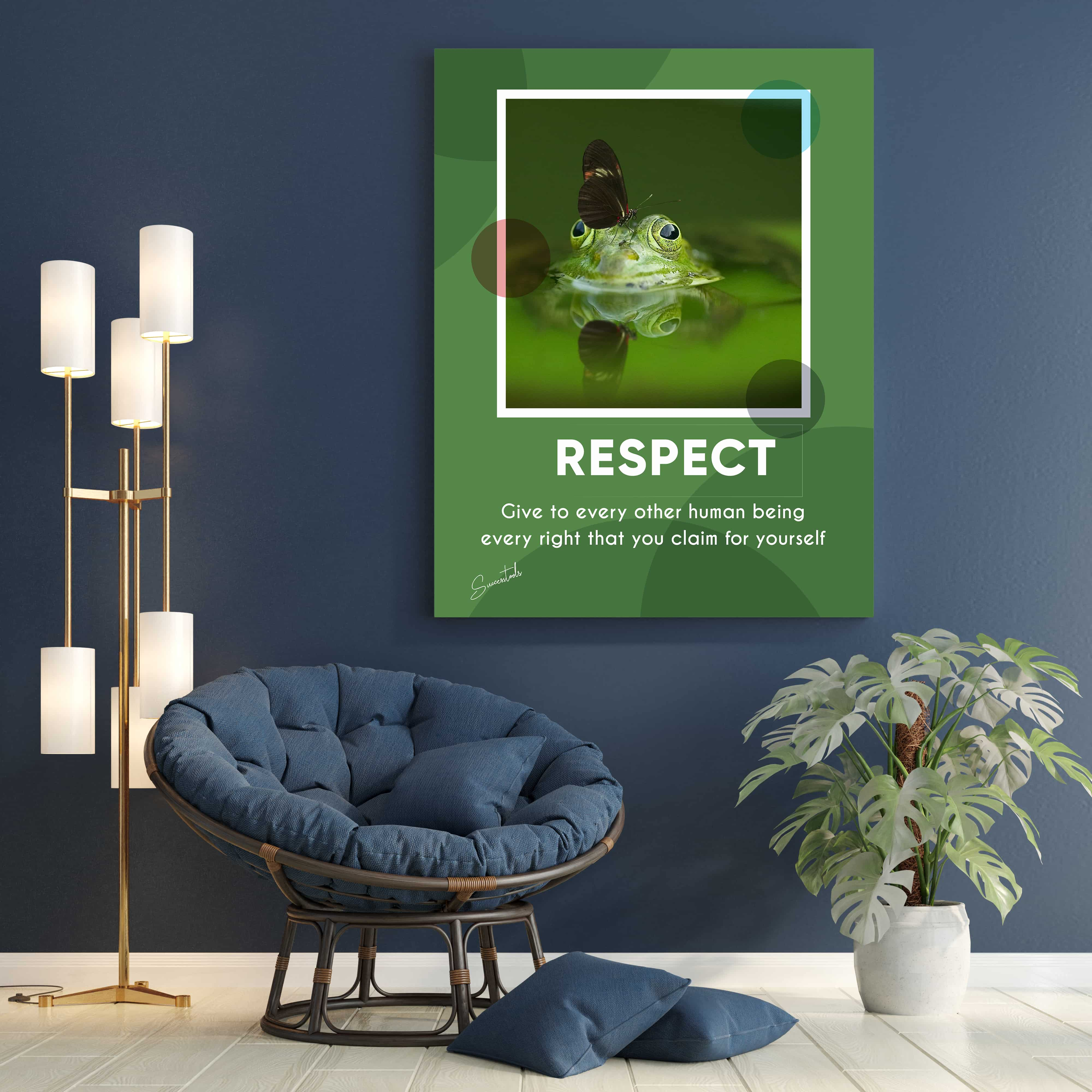 Motivational Artwork (Respect)