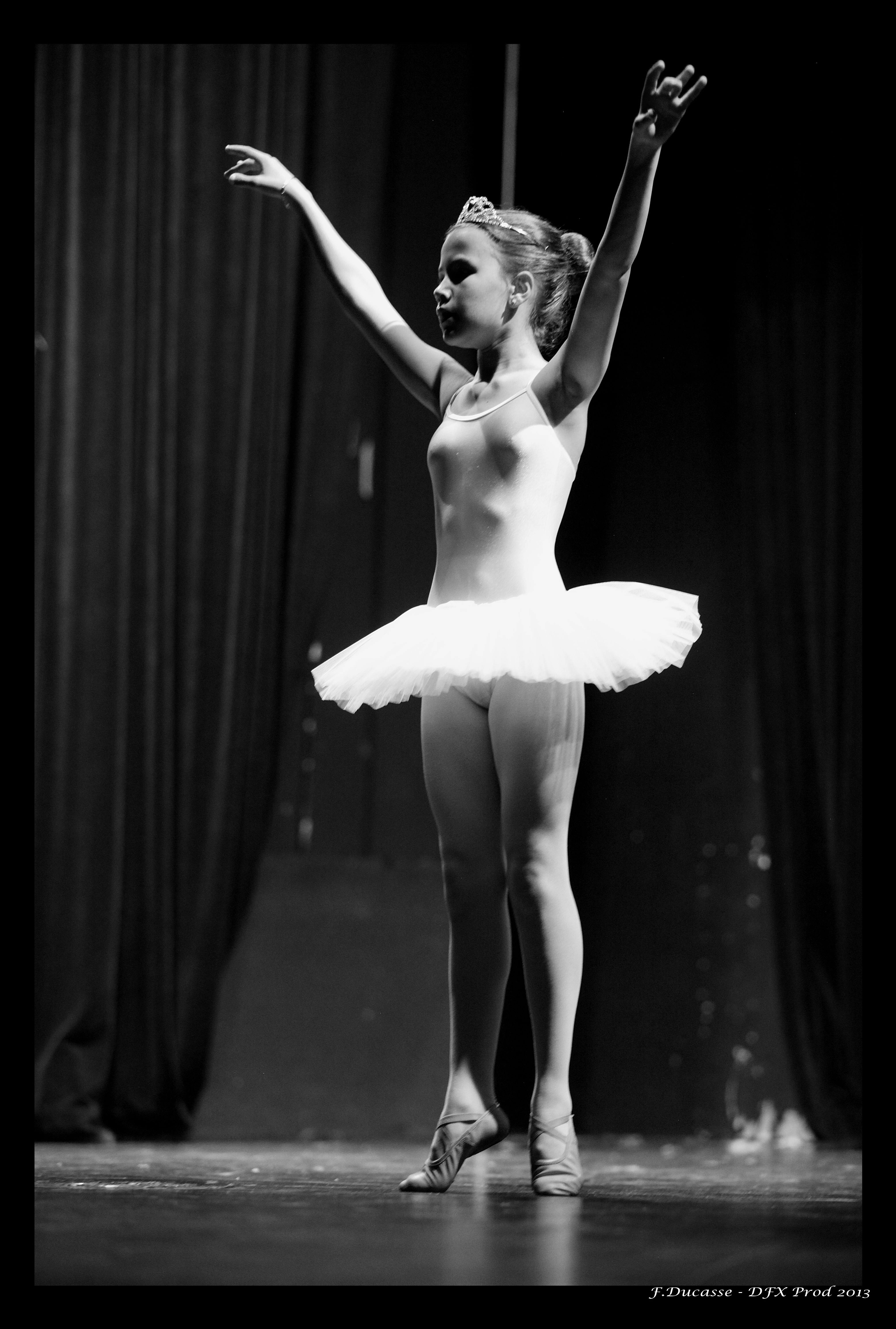 Petite danseuse solo