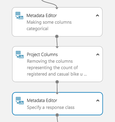 Specify a Response Class Image with Metadata Editor
