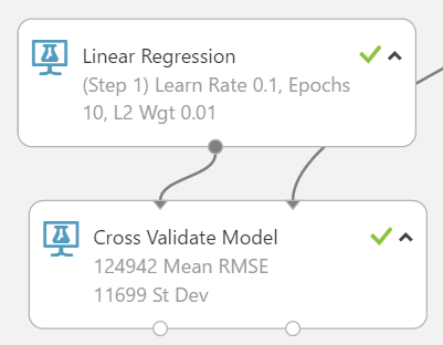 Model training and evaluation image cross validation 2 for azure ml