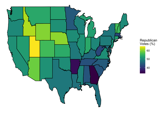 data visualization Maps with GGMap Image Choropleth 1 Data Viz