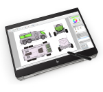 "HP ZBook Studio x360 G5 Grijs Mobiel werkstation 39,6 cm (15.6"") 3840 x 2160 Pixels Touchscreen 2,90 GHz Intel® Core™ i9-8xxx i9-8950HK"