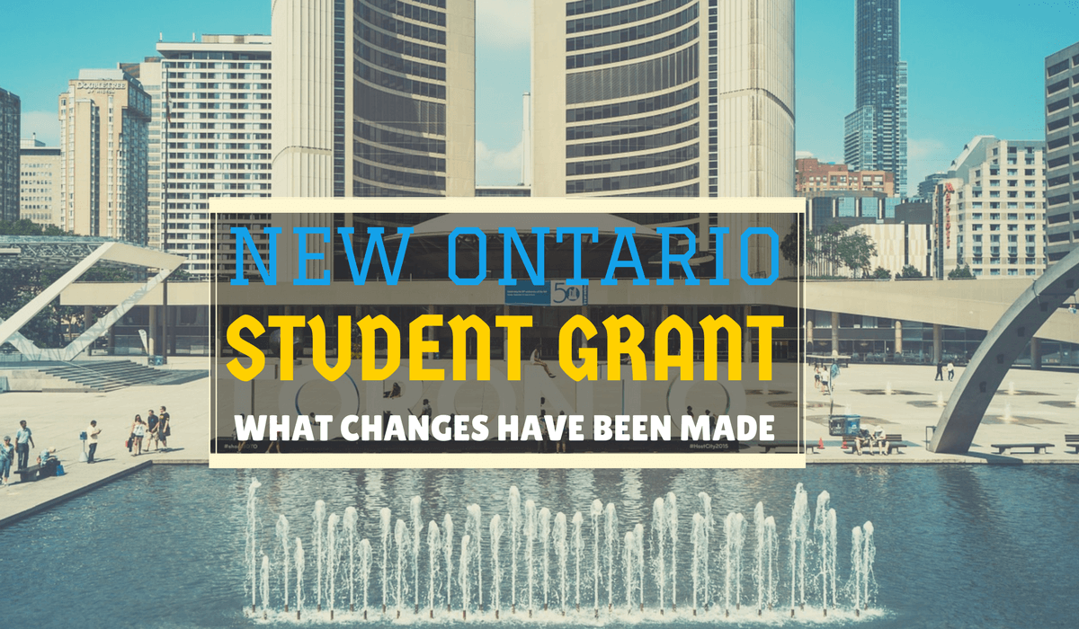 New Ontario Student Grant