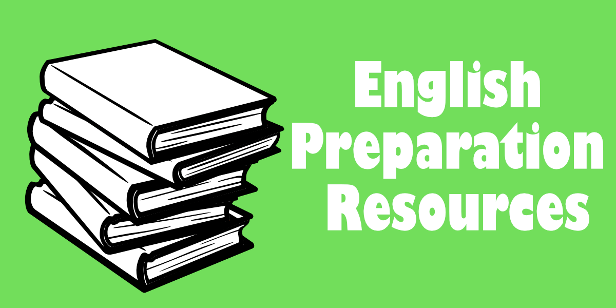 English preparation resources