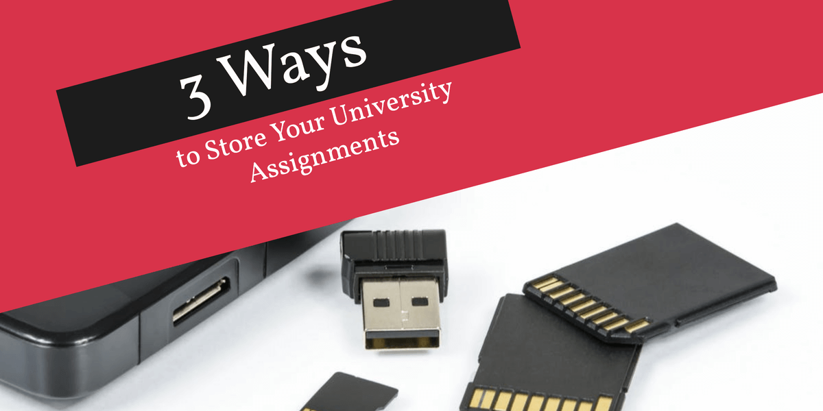 3 Ways to Store Your University Assignments