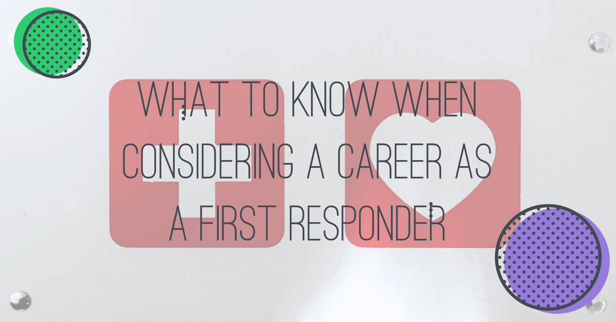 Career as a First Responder