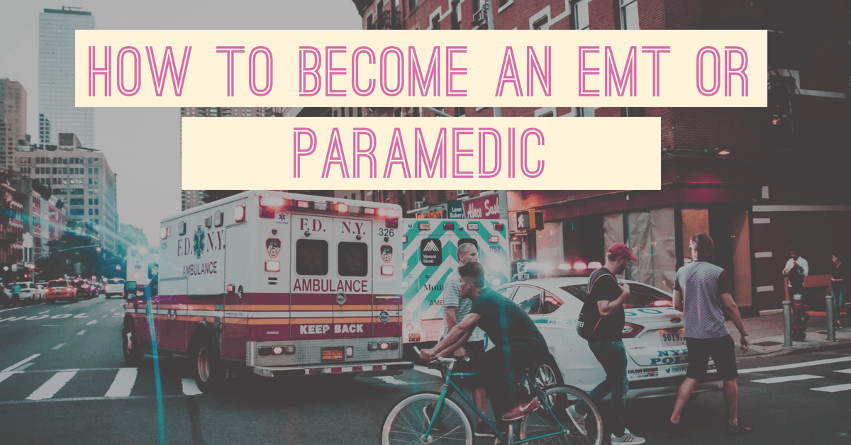 How to become a paramedic