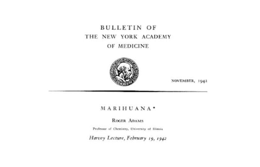 Marihuana, Roger Adams, 1942 - 1. díl