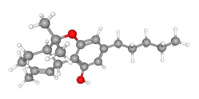 Dronabinol, syntetický izomer THC