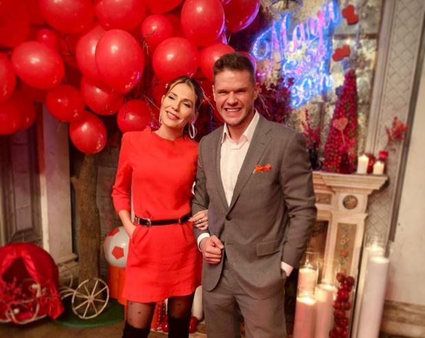 Владимир Яглыч и Антонина Паперная стали родителями во второй раз