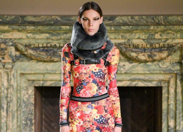 Показ Vera Wang на Неделе моды в Нью-Йорке